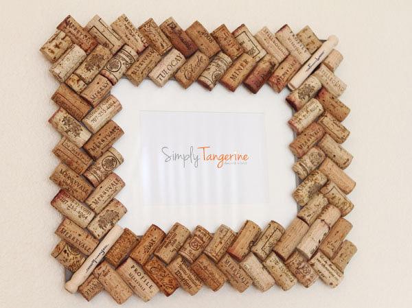 Corchos reciclados qu hacer con corchos usados ecolog a hoy - Marcos para cuadros originales ...