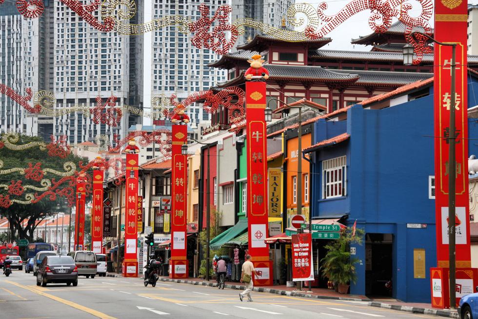 Cinatown-Singapur