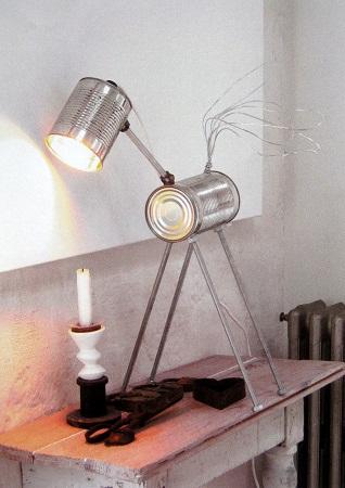 lampara latas