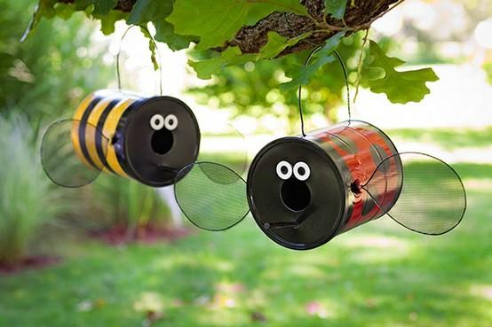 latascomo-hacer-abejas-con-latas-recicladas