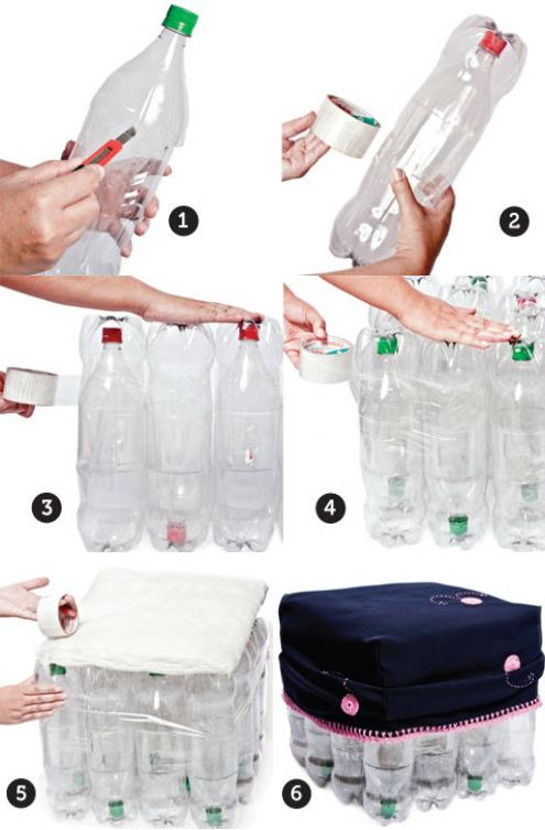 Asientos-reciclados