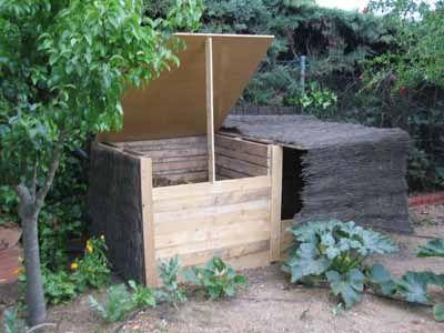 Construccion de recipientes para composta