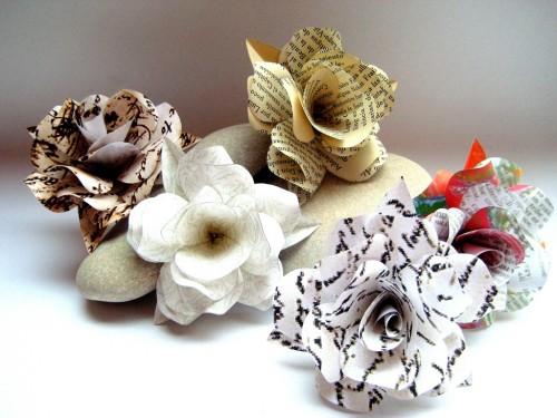 flores-de-papel-reciclado