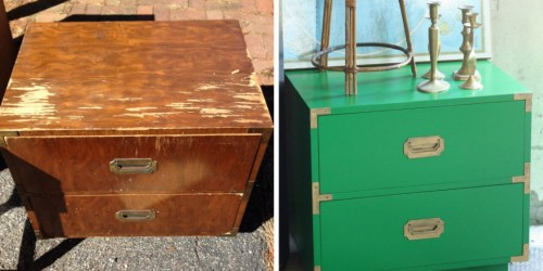 mueble renovado