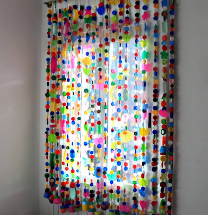 Botones reciclados ideas para hacer con botones en desuso ecolog a hoy - Como coser cortinas paso a paso ...