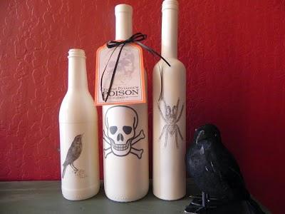 nocheIdeas de Decoracion para Halloween con Materiales Reciclados1