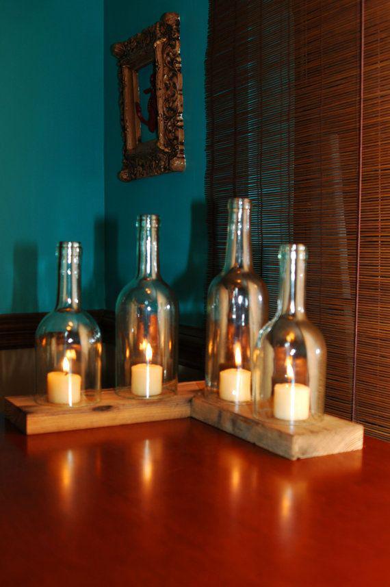 C mo podemos hacer para reutilizar botellas de cerveza o for Reciclar cosas para decorar