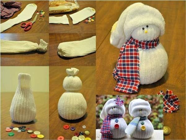 mediassock-snowman-craft
