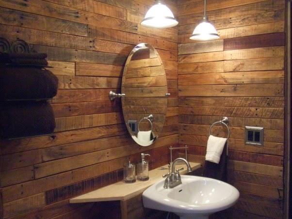 10 Ideas para decorar con palets tu baño 10