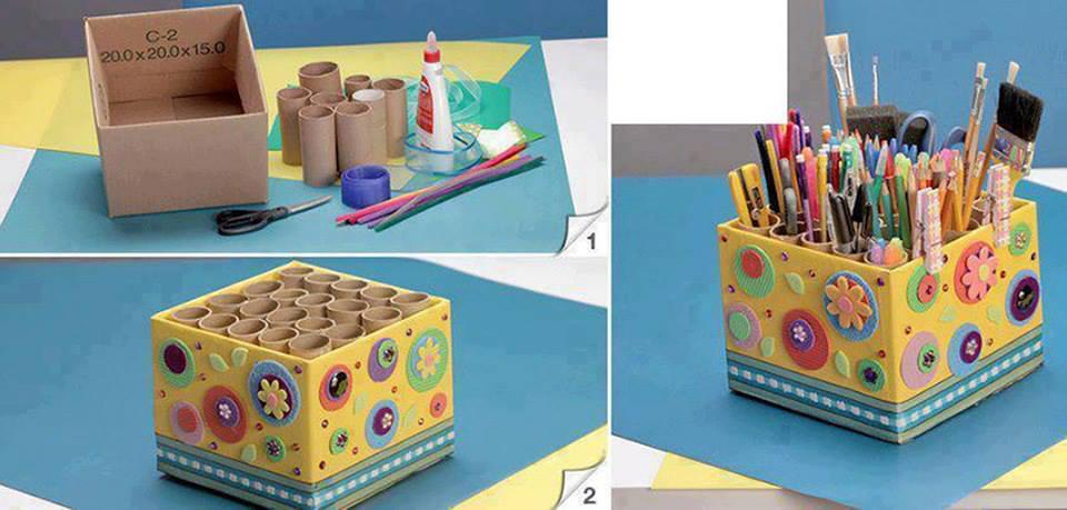 Como reciclar cartón y hacer manualidades para niños
