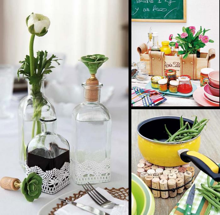 Ideas para hacer adornos con reciclaje para decoraci n ecolog a hoy - Cosas originales para el hogar ...