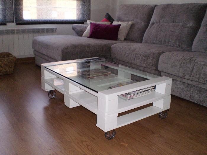 Muebles De Hoy : Imágenes de muebles hechos con palets reciclados