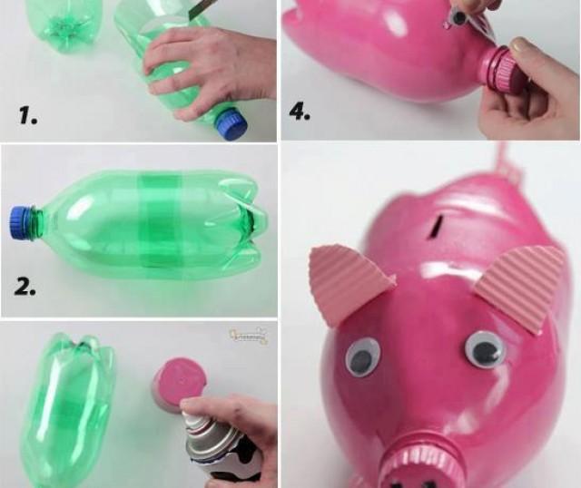 Imagenes con ideas para reciclar botellas de pl stico muy - Reciclar cosas para el hogar ...