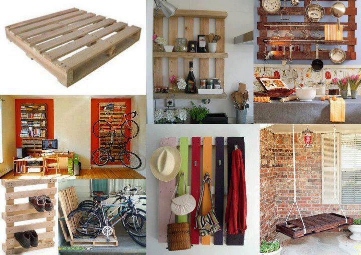 ideas creativas para reutilizar palets