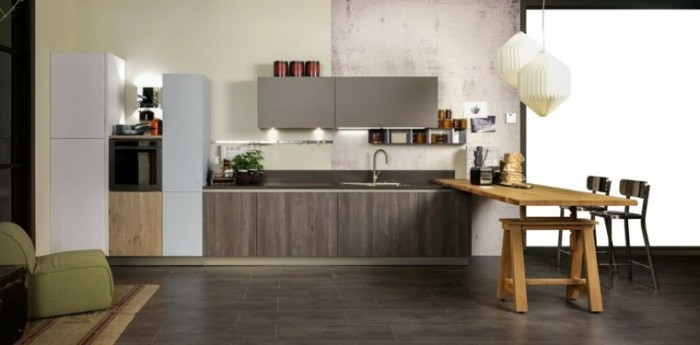 imagenes-de-cocinas-diseno-moderno-mesa-madera