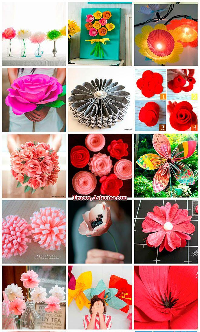 manualidades-de-flores-papel-fieltro-tela-recicladas1