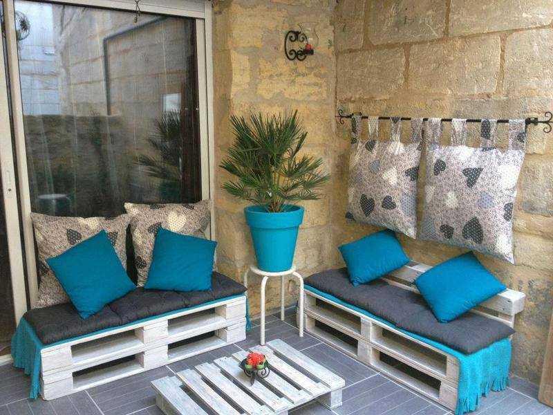 Imgenes de muebles hechos con palets reciclados Ecologa Hoy