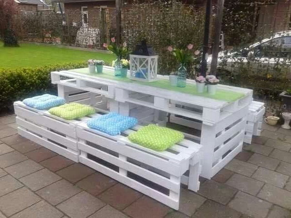 muebles palets madera 4 - Muebles De Jardin Con Palets