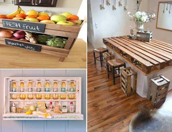 Imagenes con ideas para decorar la cocina moderna con - Cosas de cocina originales ...