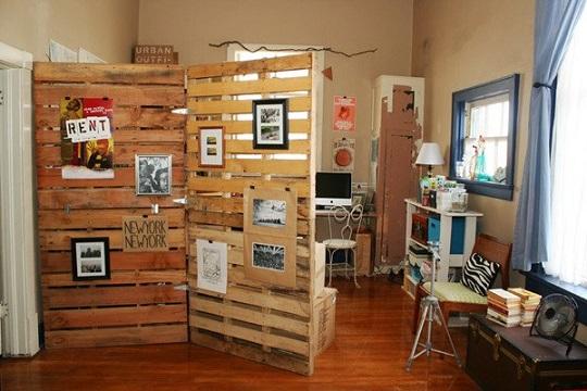 Ideas para decorar el ba o con muebles de palets - Muebles originales reciclados ...