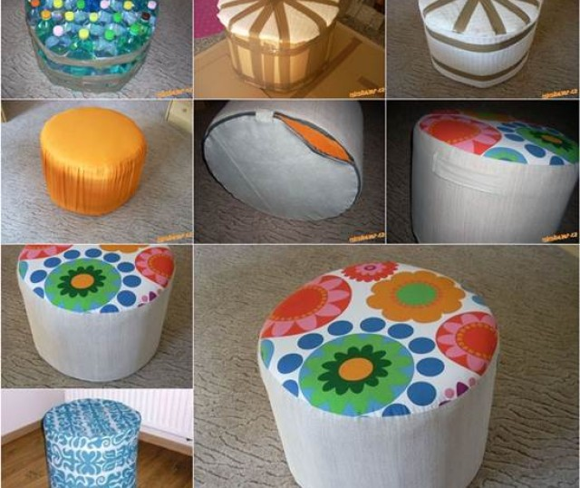 Imagenes con ideas para reciclar botellas de pl stico muy - Ideas para reciclar muebles ...