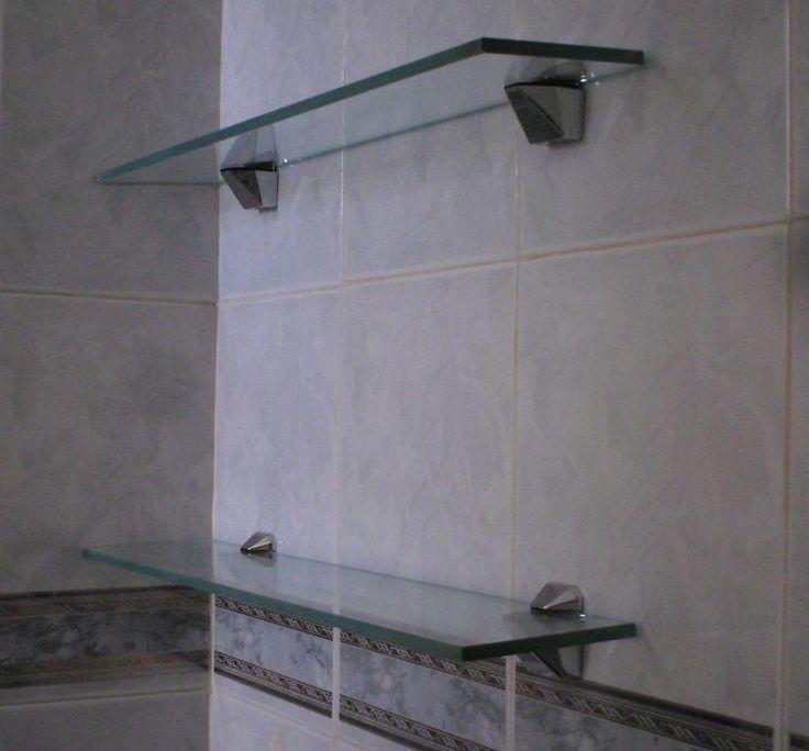 Ideas para hacer repisas invisibles modernas y muy for Banos con repisas de vidrio