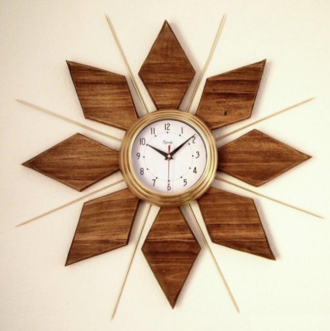 Ideas geniales para hacer un reloj casero reciclado - Relojes modernos de pared ...