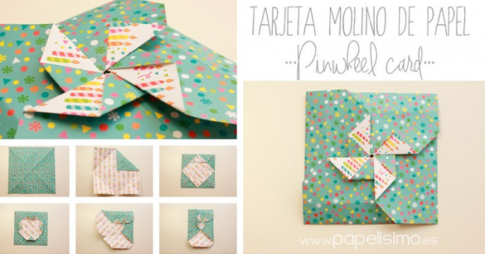Tarjeta-molinos-de-papel-Paper-Pinwheels-Scrapbooking-pasos