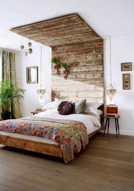Ideas para hacer muebles reciclados cama con palets for Reciclar una cama de madera