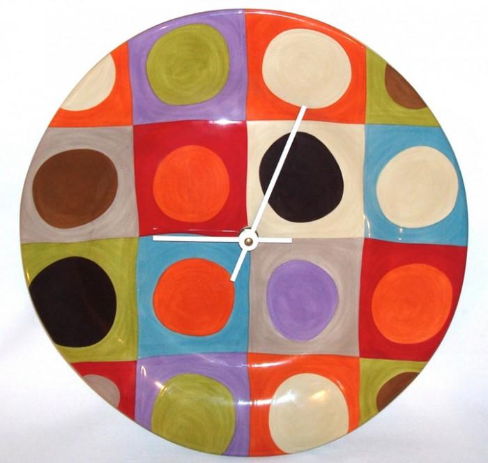 como-hacer-un-reloj-con-un-plato2