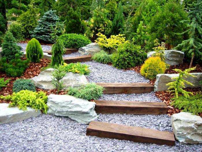 piedras y rocas decorativas para jardin