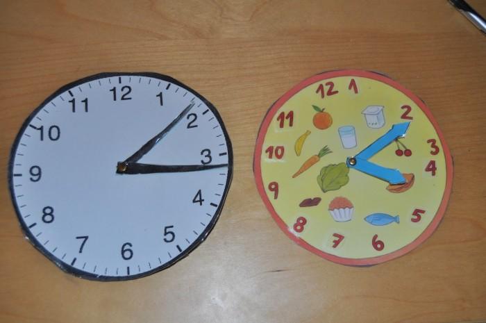 relojes caseros