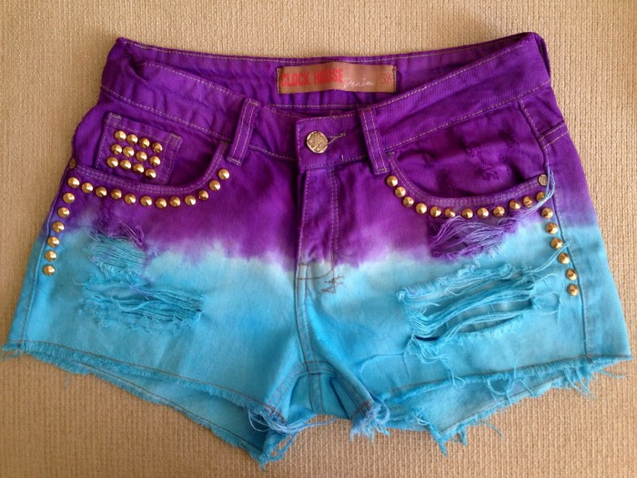 short com dip dye 3