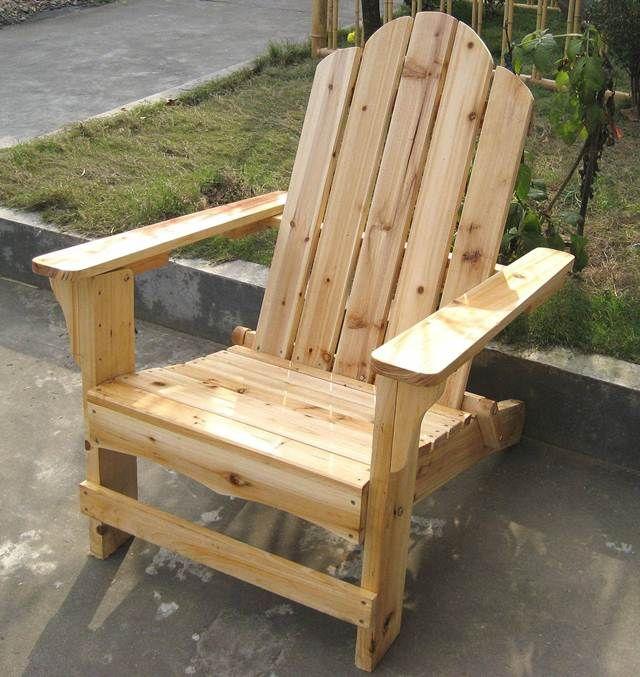 Ideas super originales para hacer sillas con palets - Como hacer sillon de palets ...