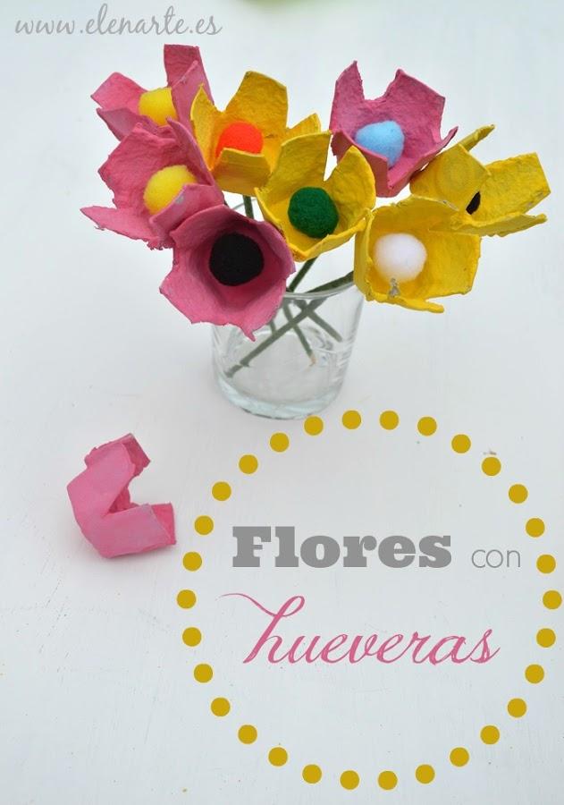 Flores con hueveras (406)