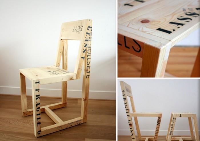 Ideas super originales para hacer sillas con palets for Sillas modernas 2016