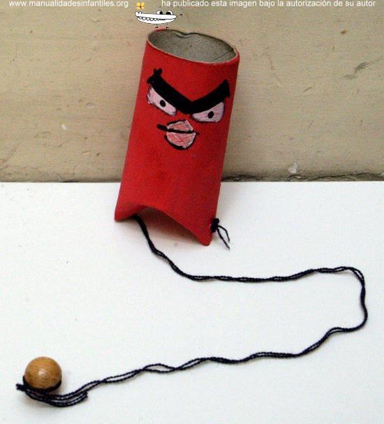 angry-birds-con-tubos-de-papel-higinico