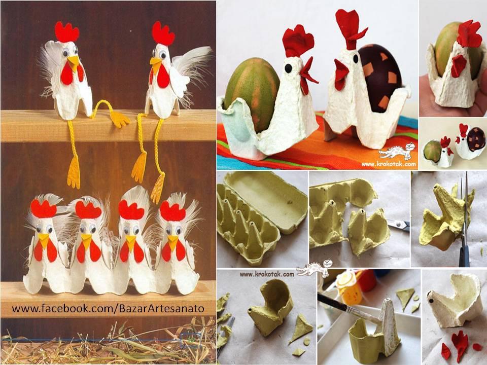 decoraciones creativas con carteras de huevos paso a paso manualidades con niños faciles y divertidas imagenes tutoriales como realizar
