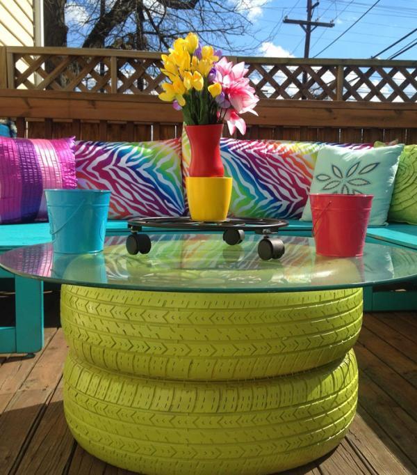 Ideas para la casa de decoraci n con cosas recicladas for Arreglar el jardin de casa