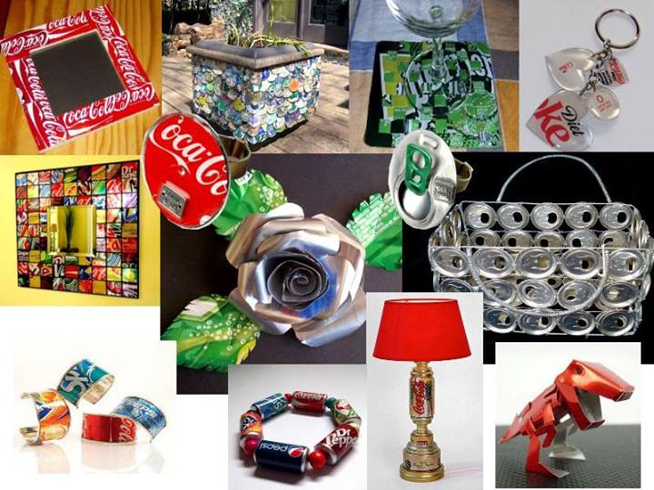 reciclar latas de refrescos