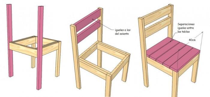 Ideas super originales para hacer sillas con palets for Reciclar palets de madera paso a paso