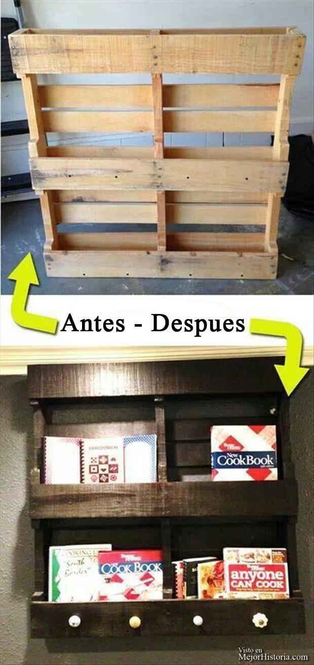 Más de treinta Ideas en imágenes para reciclar y decorar tu casa ...