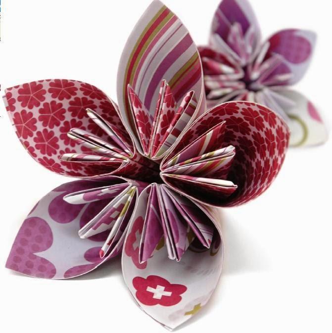 Flores con Papel Reciclado, Ideas para el Dia de la Madre1