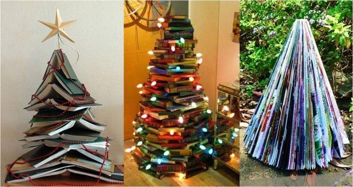Hojas De Papel Para Decorar En Navidad