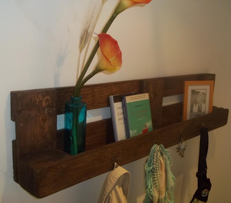 Imagenes con ideas para hacer muebles con palets para el - Ideas para palets ...