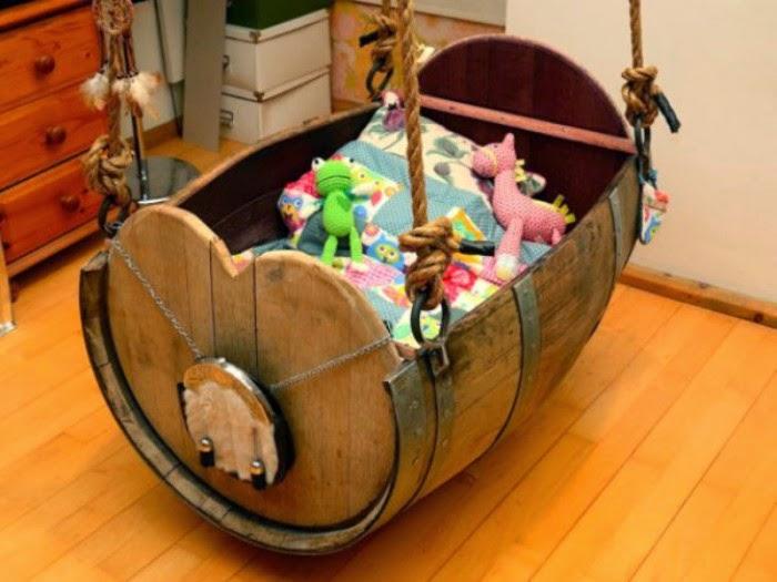 10 Ideas para Reciclar Toneles, Muebles Ecoresponsables1