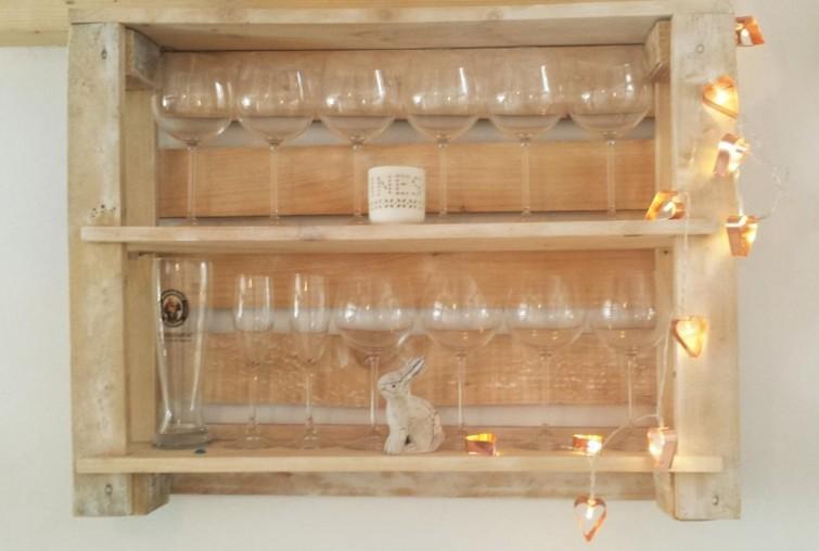 Imagenes con ideas para hacer muebles con palets para el - Muebles de cocina reciclados ...