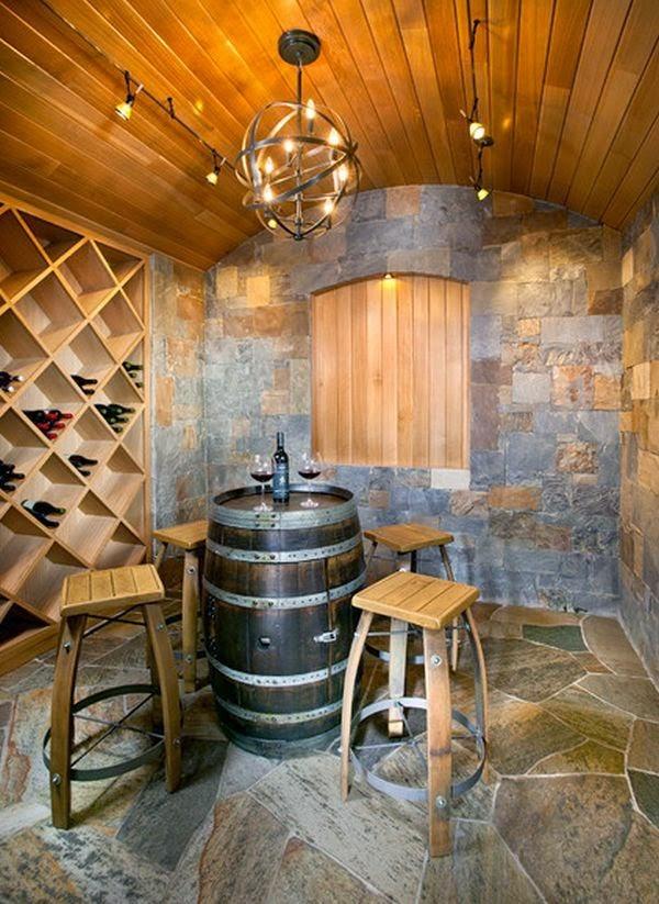 Ideas para decorar con barricas de vino (11)