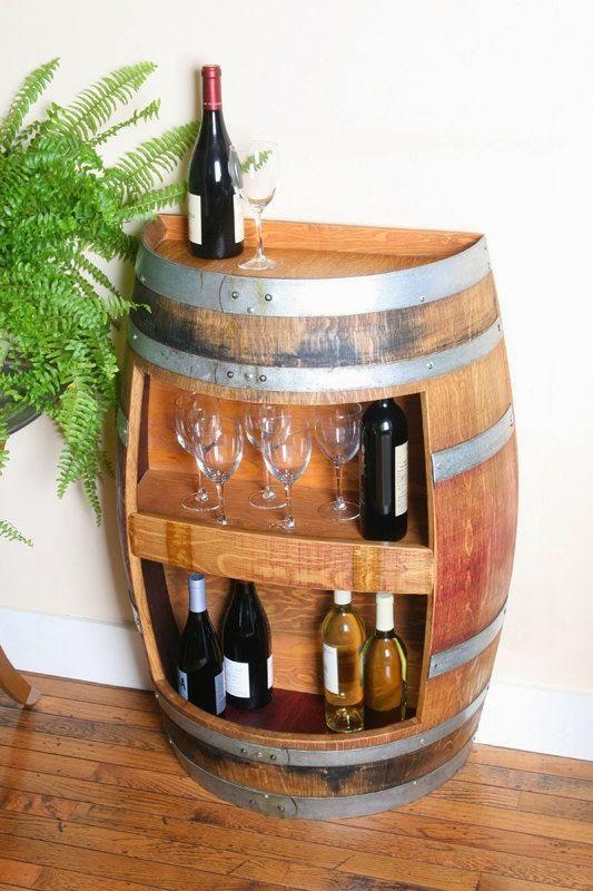 Ideas para decorar con barricas de vino (3)