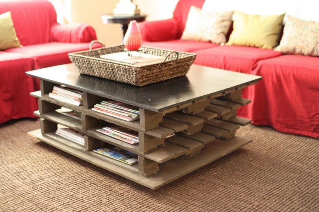 Imagenes con ideas para hacer muebles con palets para el living ecolog a hoy - Hacer sillones con palets ...